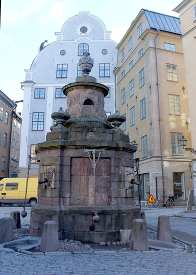 The old well.